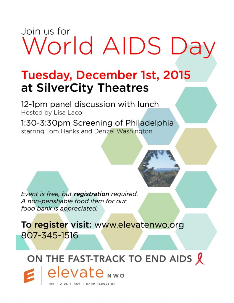 WORLD AIDS DAY 2015 Invite